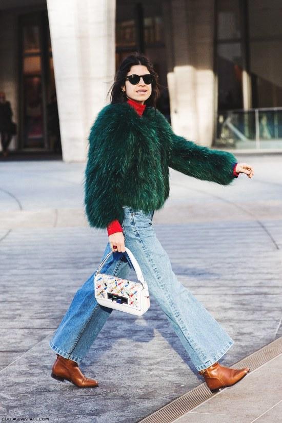 abrigos pelo moda invierno