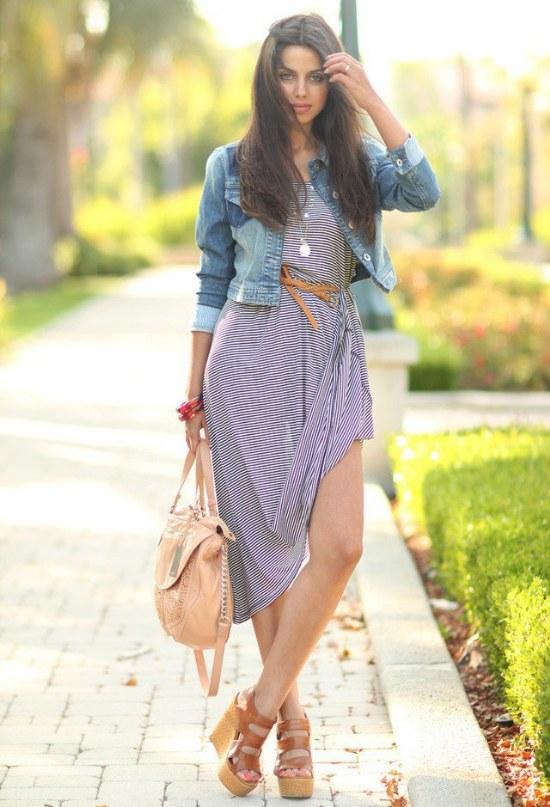 chaquetas jean denim outfits