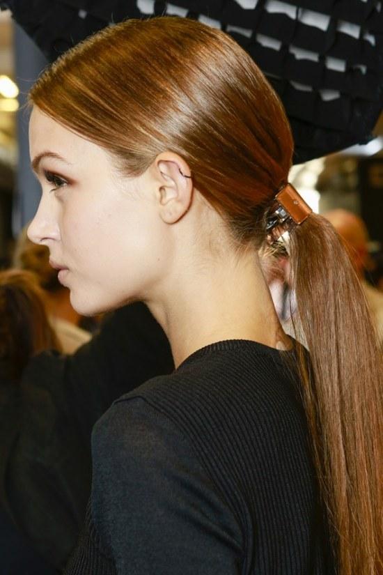 peinados cola baja moda