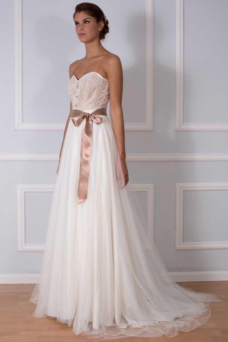 Colección de vestidos para novias 2015: Románticos