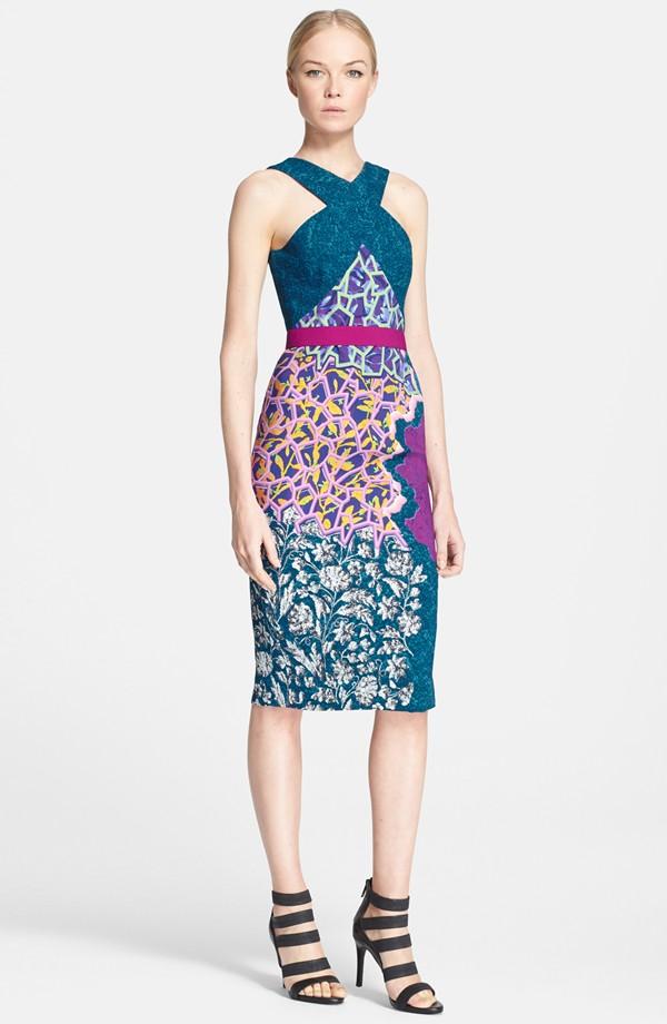 Vestidos cortos con hermosos colores de moda 2015