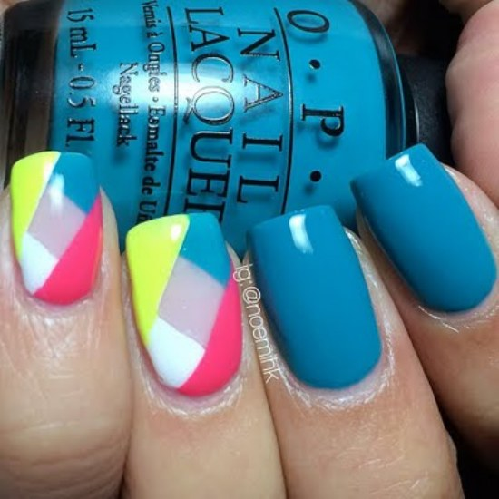 diseño geometrico uñas