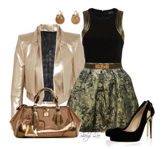 outfits faldas polyvore