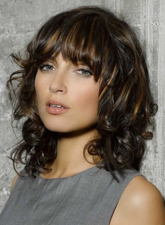 corte peinado flequillos cabello