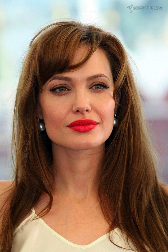 labios rojos moda maquillaje