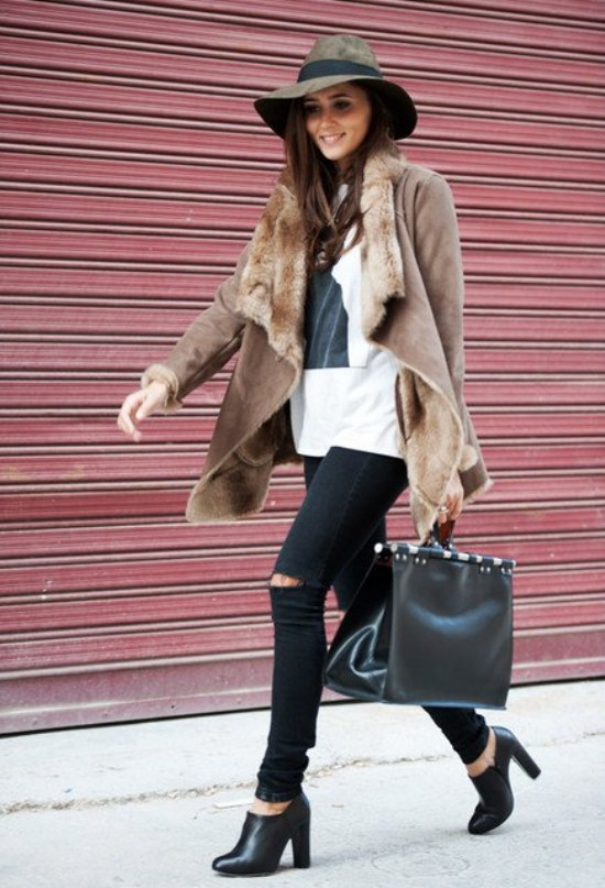 outfits casuales invierno