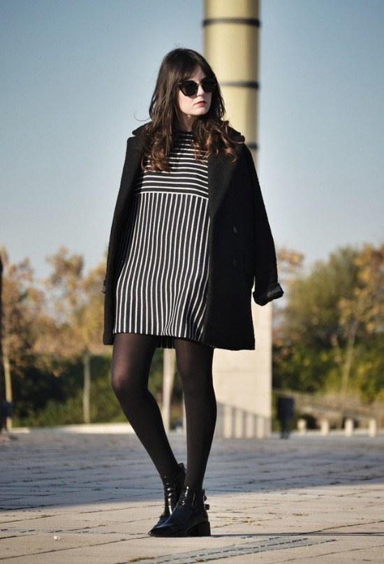 outfits con blazer negro