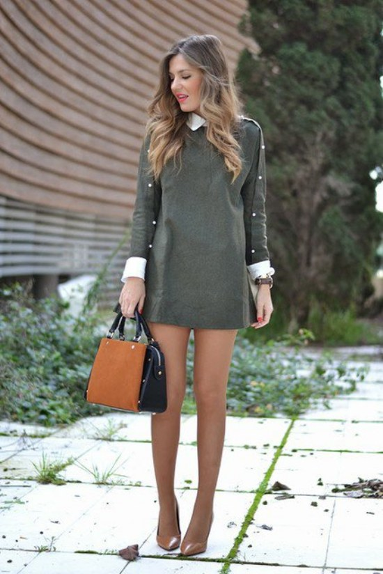 outfits casuales elegantes
