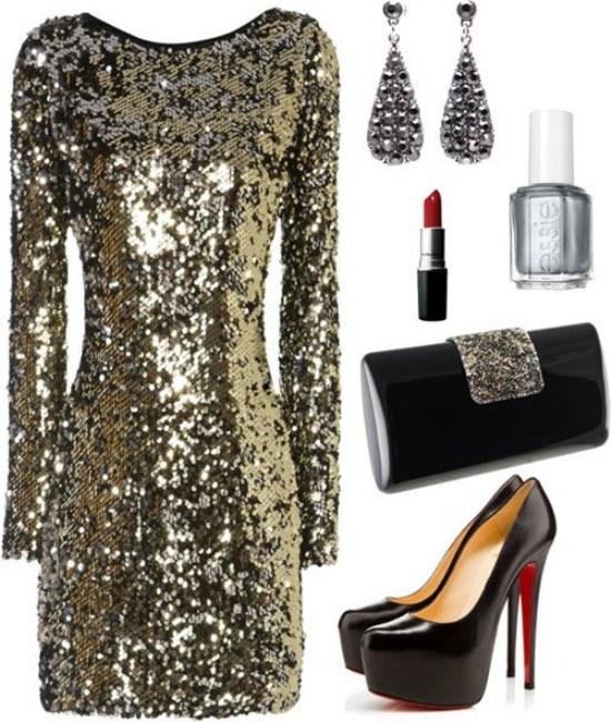Combinaciones de Outfits por Polyvore para tu próxima Fiesta de Noche!