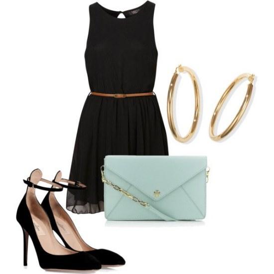 outfits vestidos fiestas noche