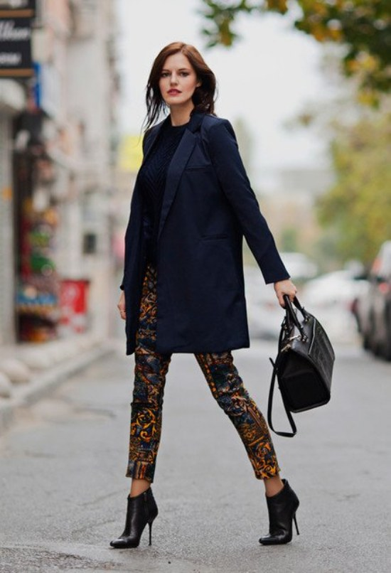 stunning outfits trabajo invierno 12