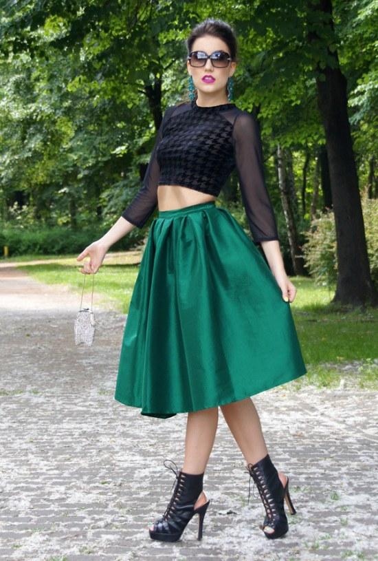 outfits primavera faldas vestidos