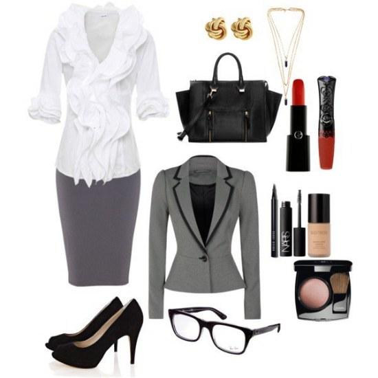 outfits trabajo mujeres moda