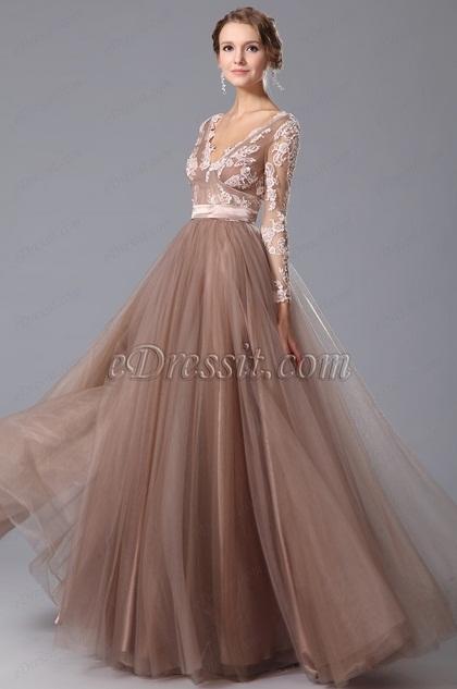 Vestidos de fiestas moda 2015