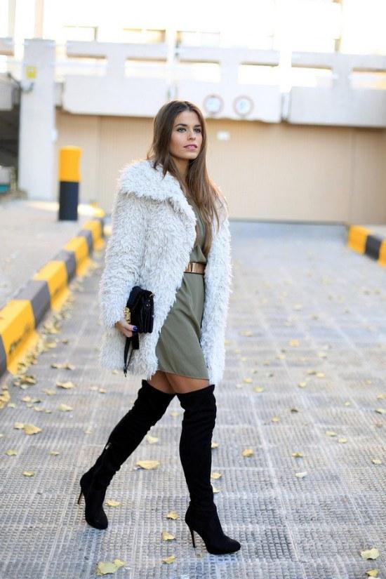 ropa color kaki moda