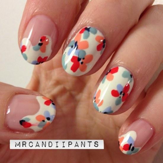 uñas diseños manicure primavera