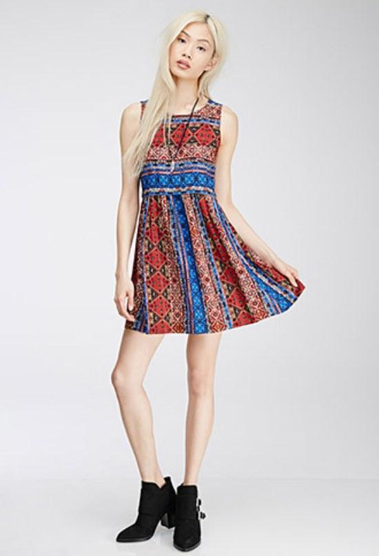 vestidos cortos moda primavera