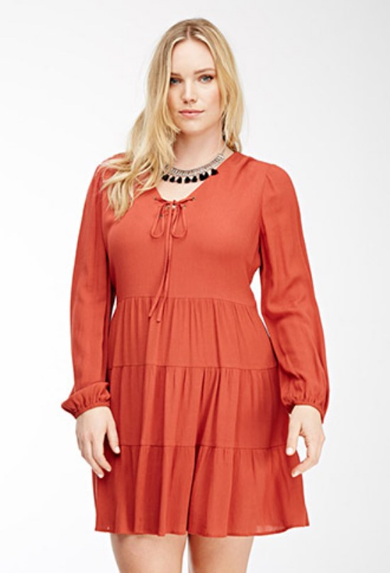 vestidos para gorditas san valentin