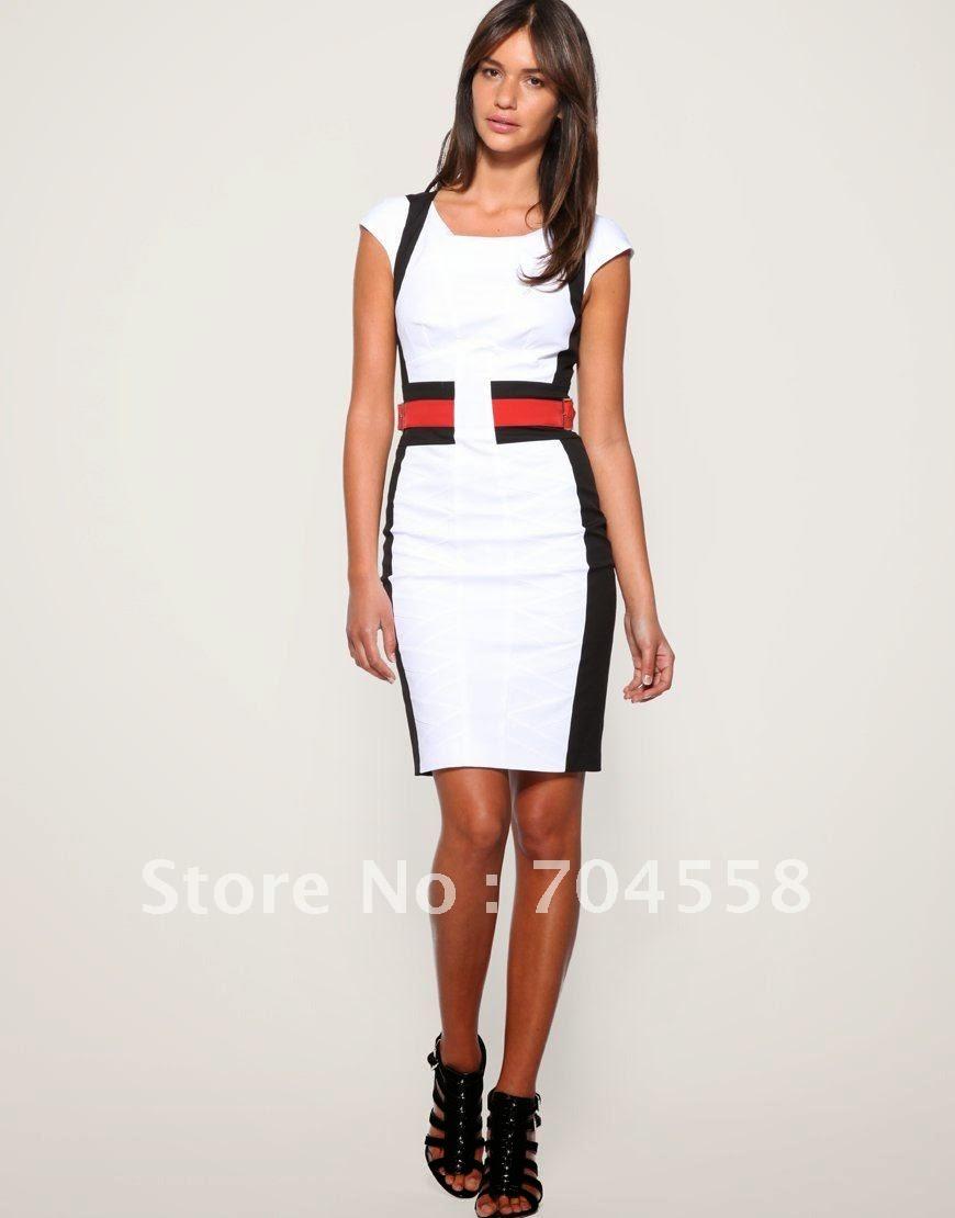 bc0040307 Modelos de vestidos formales para el trabajo – Vestidos baratos