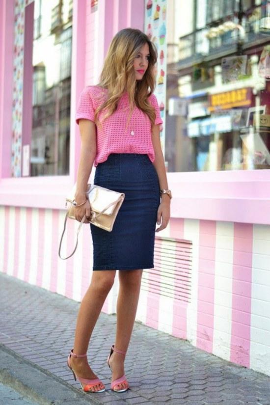 Outfits Casuales y Elegantes con Faldas de todo tipo a la Moda para Primavera