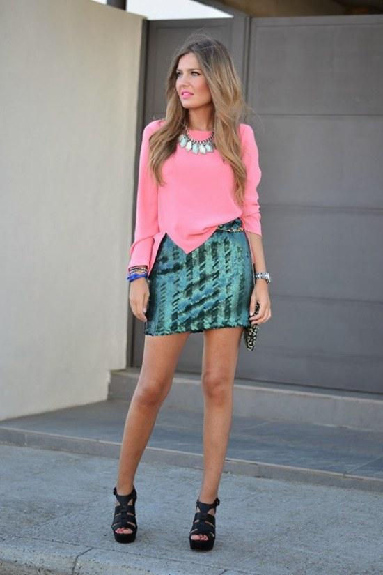 faldas outfits moda primavera