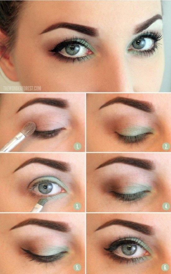 Como maquillarse para un vestido verde agua