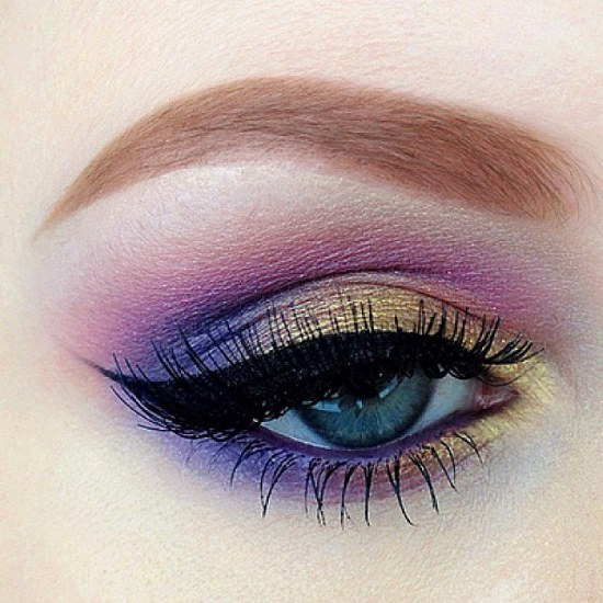 Espectaculares Maquillajes Para Ojos Con Sombras De