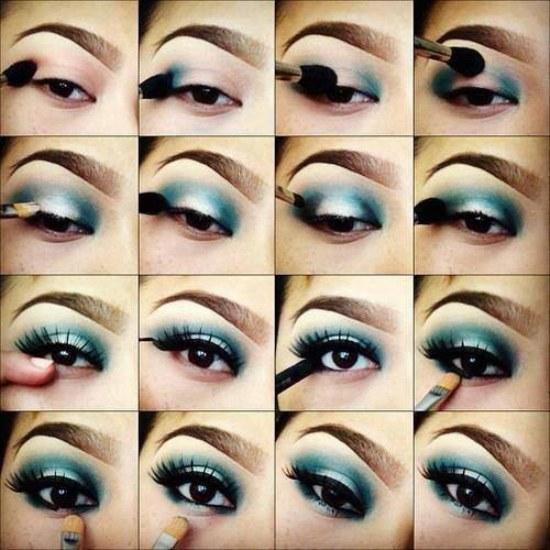 maquillaje sombras ojos tutorial