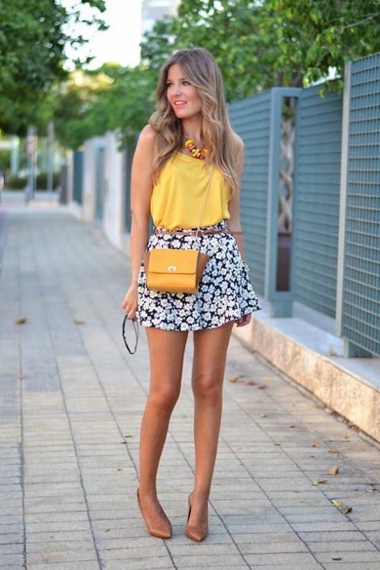 Outfits y Looks Casuales Elegantes a la Moda para la Primavera 2015   AquiModa.com