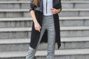 Bellas Combinaciones de Outfits con Chaquetas Negras para la Primavera 2015