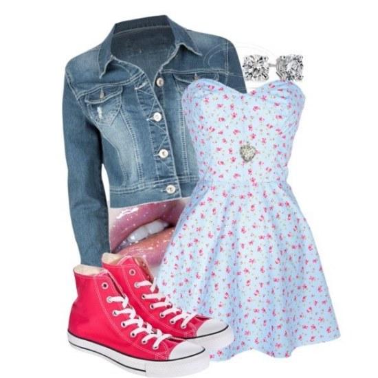 outfits zapatillas converse moda
