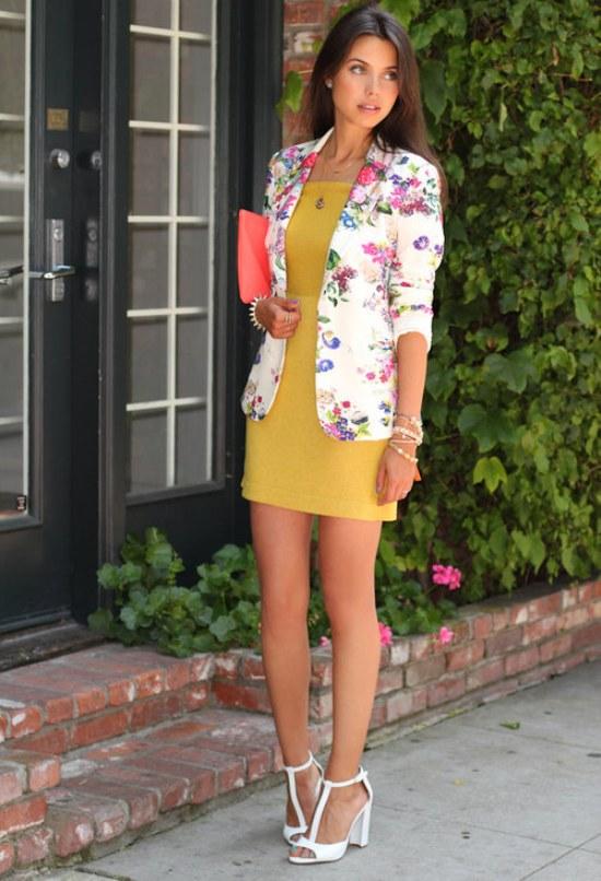 ropa flores moda primavera