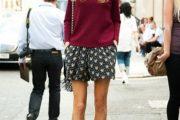 Outfits con Shorts al estilo Street Style para la Primavera 2015