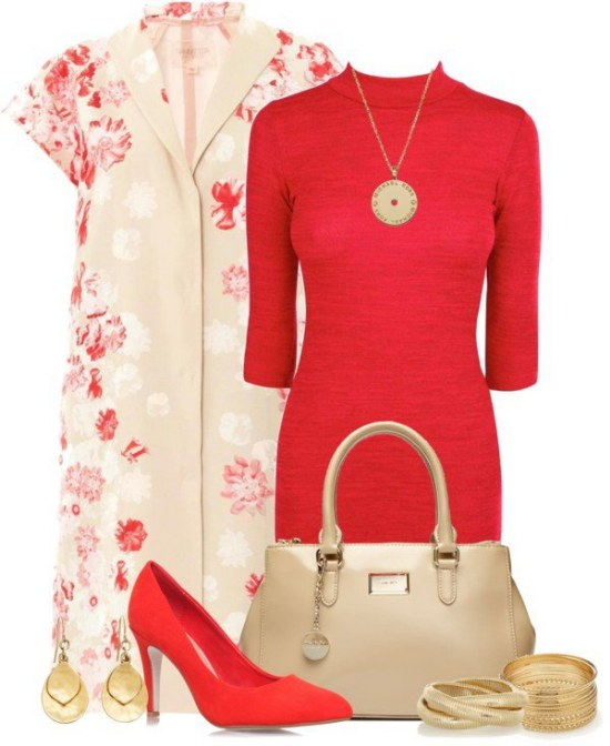outfits faldas vestidos flores primavera