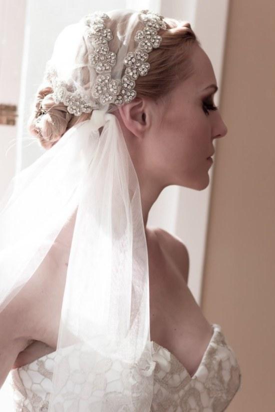 peinados cabello novias accesorios velos