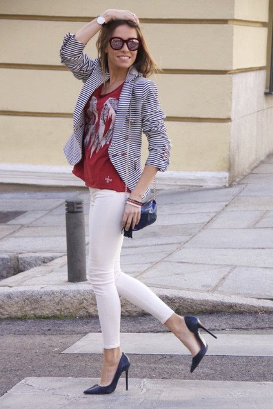 looks outfits casuales primavera