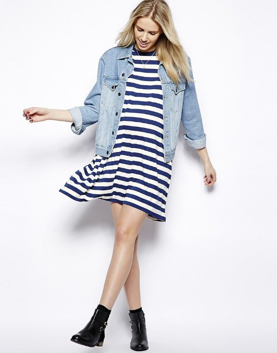 ropa rayas moda primavera