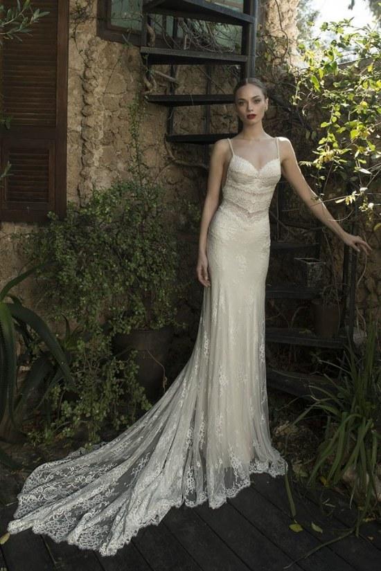 hermosa colección de vestidos para novias por solo merav 2015