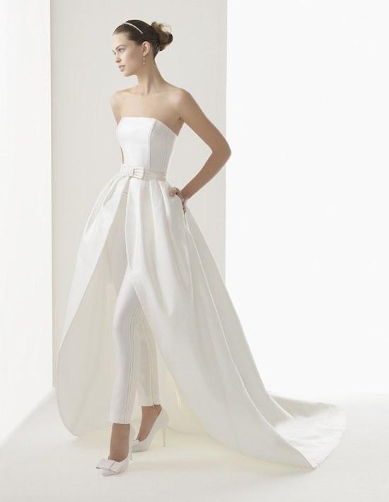 trajes novias pantalon conjunto