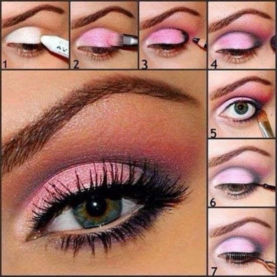 Hermosos Tutoriales paso a paso en Maquillaje de Sombra para Ojos!