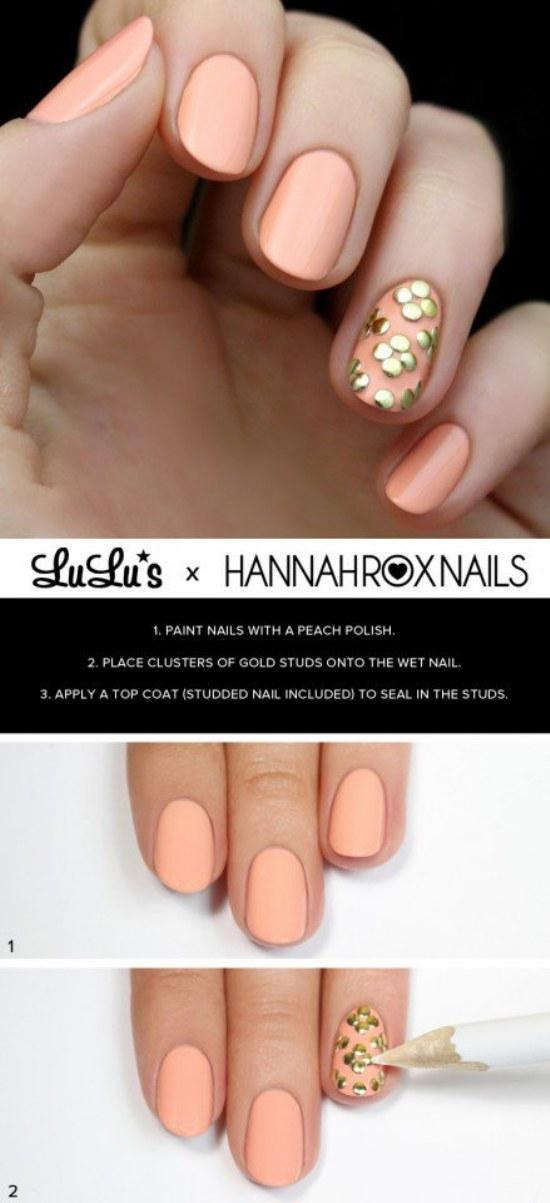 diseños uñas moda primavera