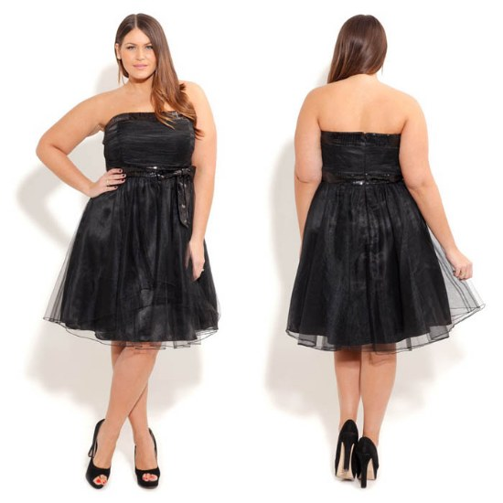 vestidos cortos gorditas fiestas