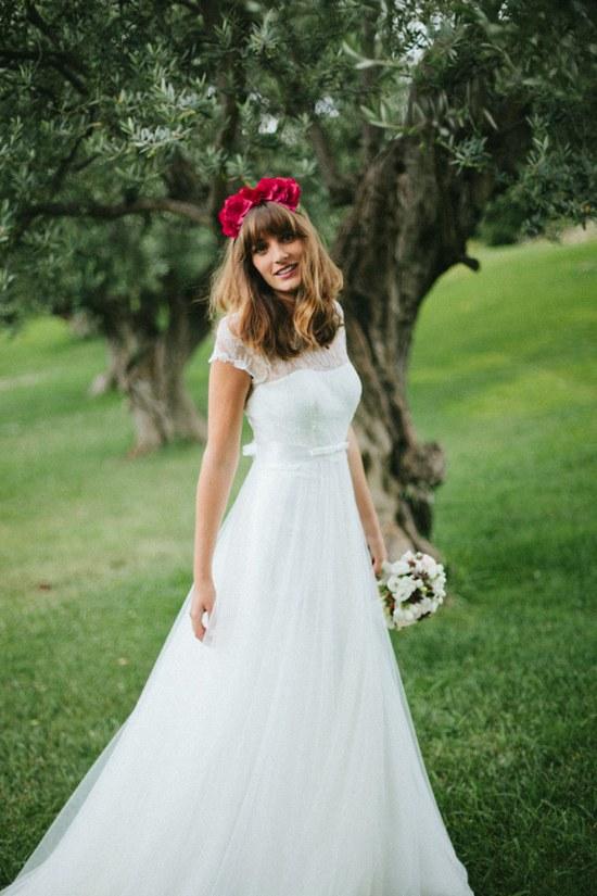 vestidos novias primavera moda