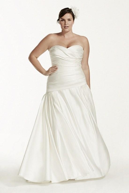 vestidos novias gorditas 2015