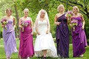 Hermosos vestidos para damas de honor 2015