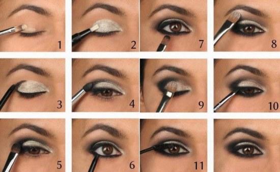 maquillaje sombra ojos tutorial