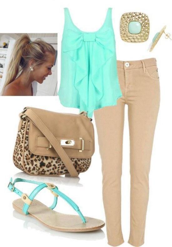 M s combinaciones de outfits a la moda para esta primavera - Q esta de moda en ropa ...