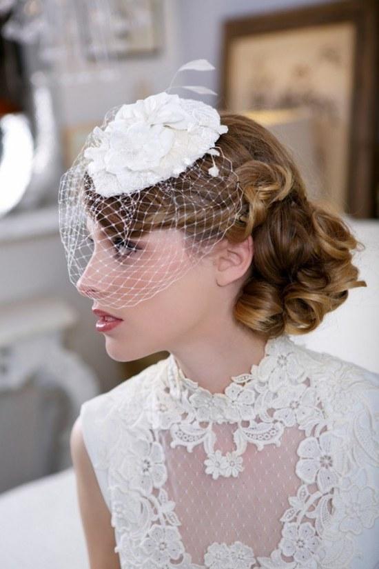 peinados accesorios cabello novias primavera