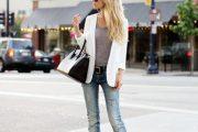 Agregale a tu Outfit Ropa de Color Blanco ya que es Moda para Primavera y Verano 2015