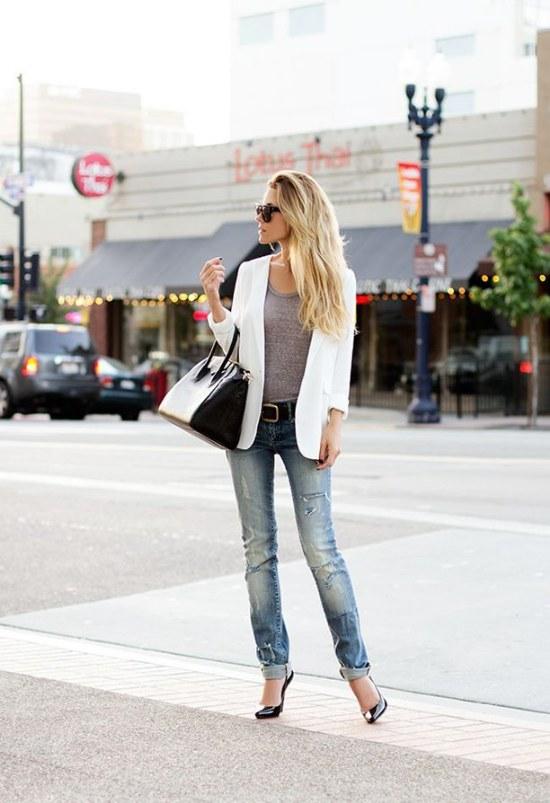 ropa color blanca moda outfits